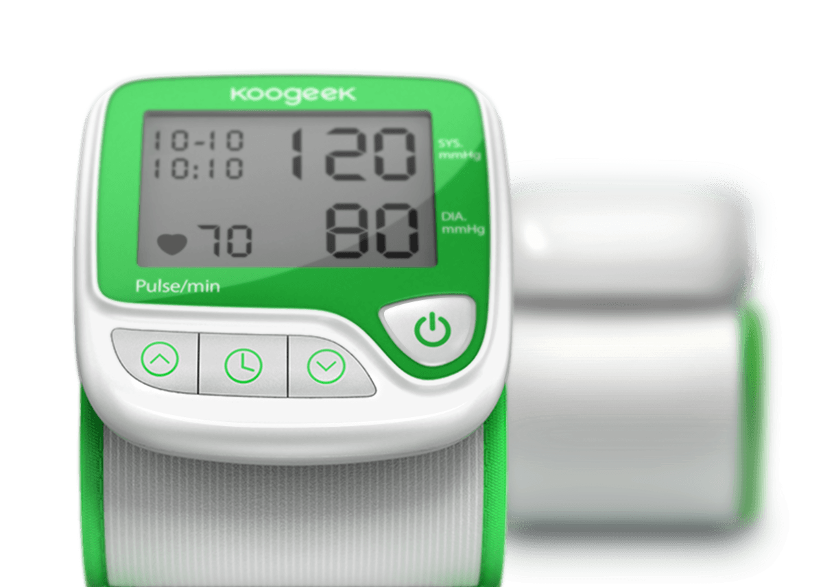 wrist blood pressure monitor Intelligent Compression Technology