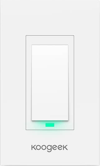 Wi-Fi Enabled Smart Light Switch