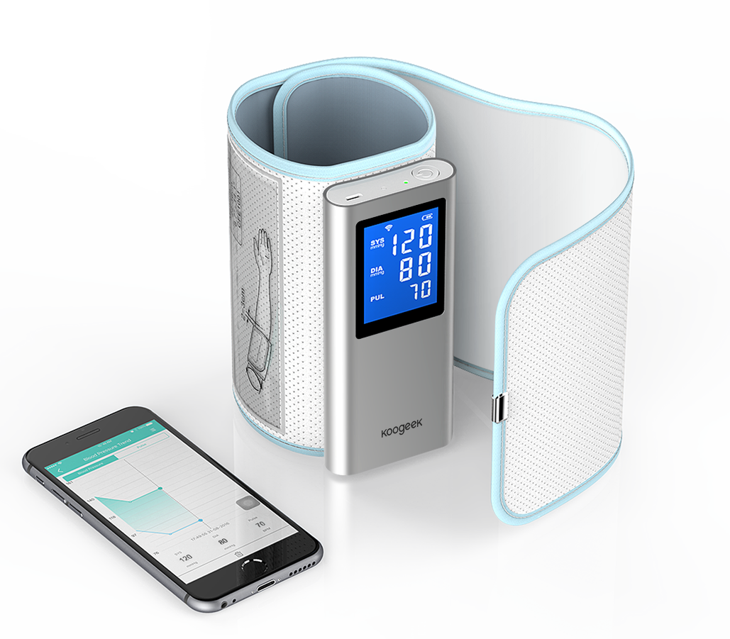 koogeek Bluetooth Wi-Fi Smart Blood Pressure Monitor