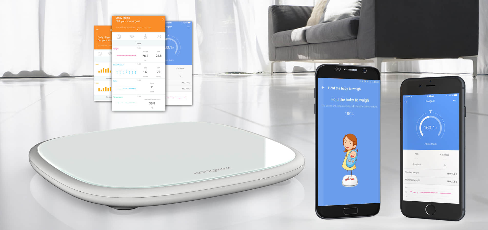 Why is Koogeek Weight Scale the best? 1